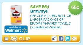 Brawny paper towel coupon