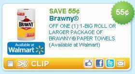 Brawny paper towel coupon