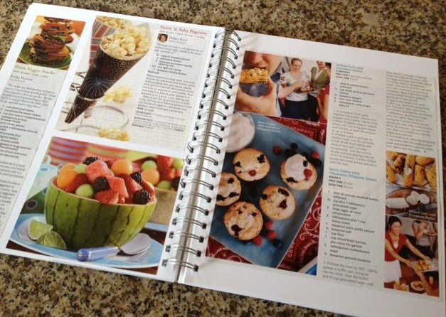 Magazine Recipe Book