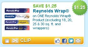 Reynolds Wrap Coupon