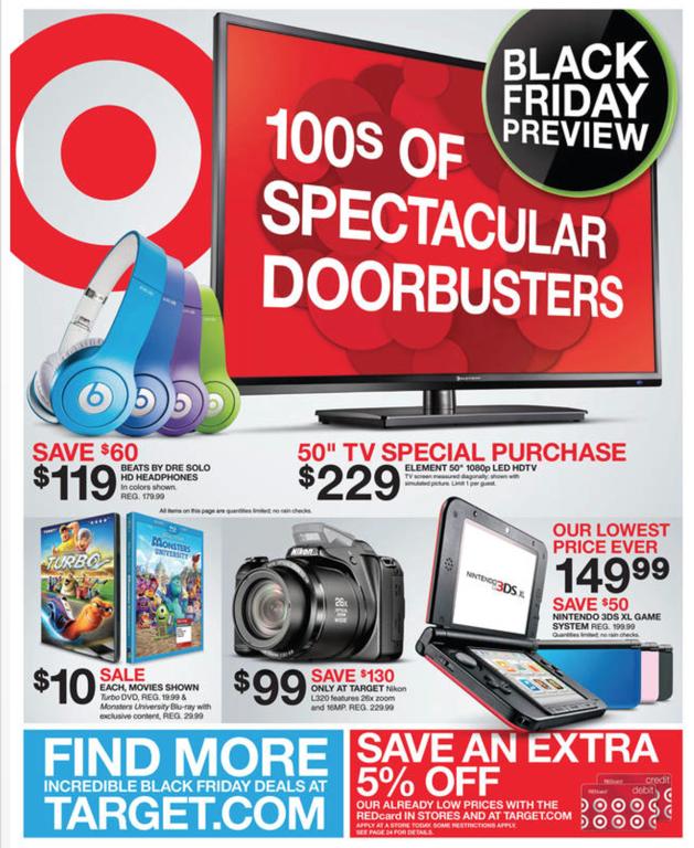 Target Black Friday ad 2013 01
