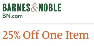Barnes & Nobel coupon