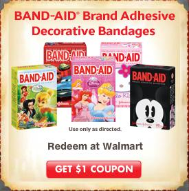 Band Aid Coupon