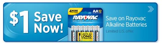 Batteries Coupon