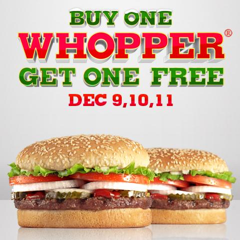 Burger King Deal
