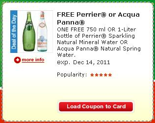 FREE Perrier Coupon