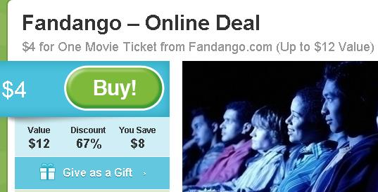 Fandango coupon codes