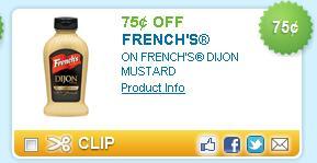 Dijon Mustard Coupon