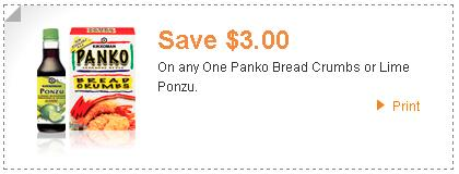 Panko Bread Crumbs Coupon