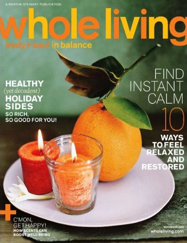 Whole Living Magazine Deal