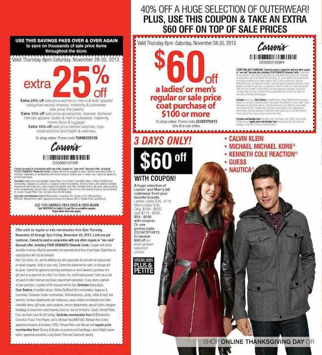 Herbergers Black Friday ad 2013